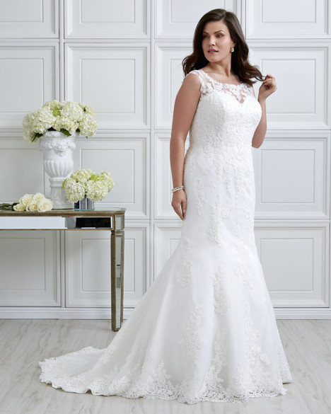 7025W Wedding                                          dress by Romantic Bridals : Romantic Plus
