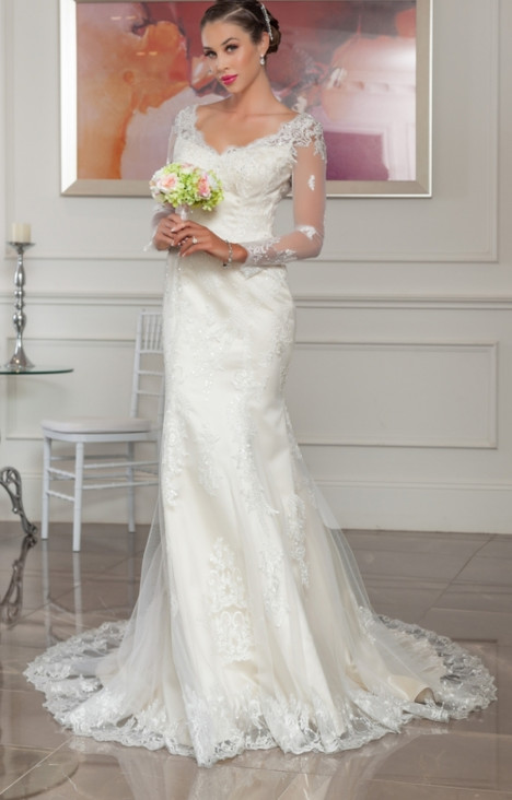 1117 Wedding                                          dress by Christina Rossi