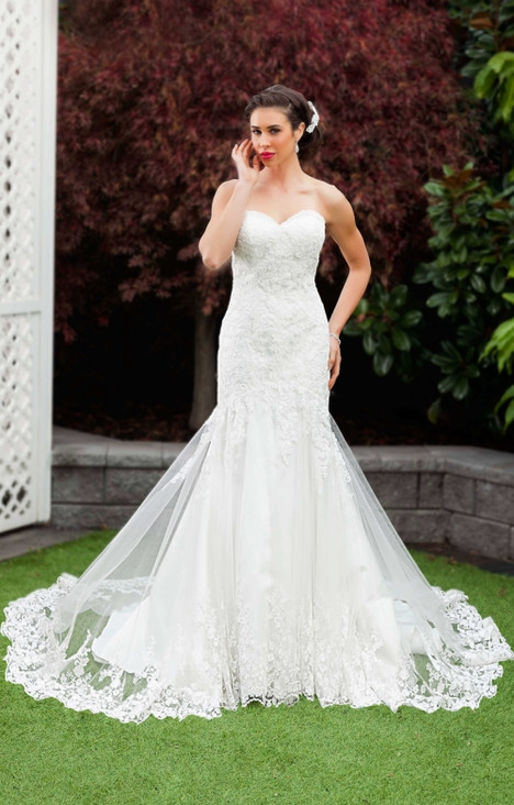 1119 Wedding                                          dress by Christina Rossi