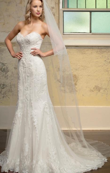 6074 Wedding                                          dress by Christina Rossi