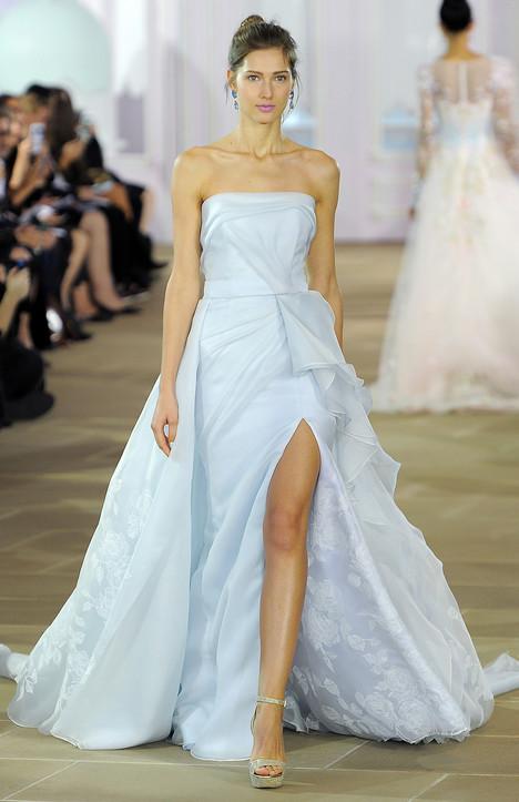 Azure Wedding                                          dress by Ines Di Santo