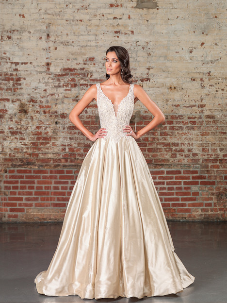 9855 Wedding                                          dress by Justin Alexander Signature