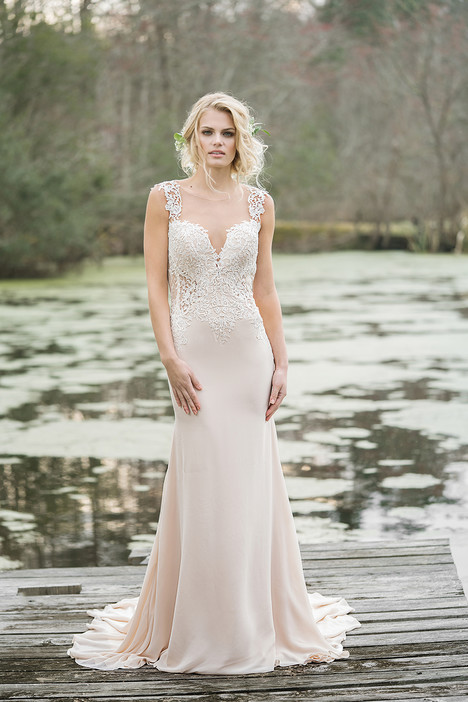6454 gown from the 2017 Lillian West collection, as seen on dressfinder.ca