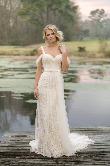 6455 Wedding                                          dress by Lillian West