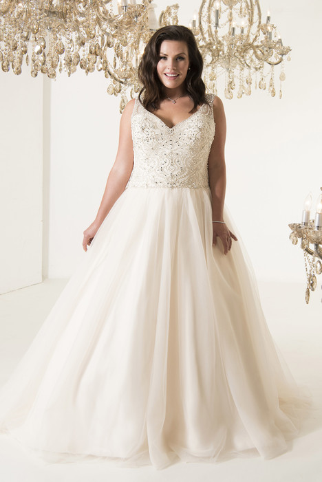 Boscoe Wedding                                          dress by Callista