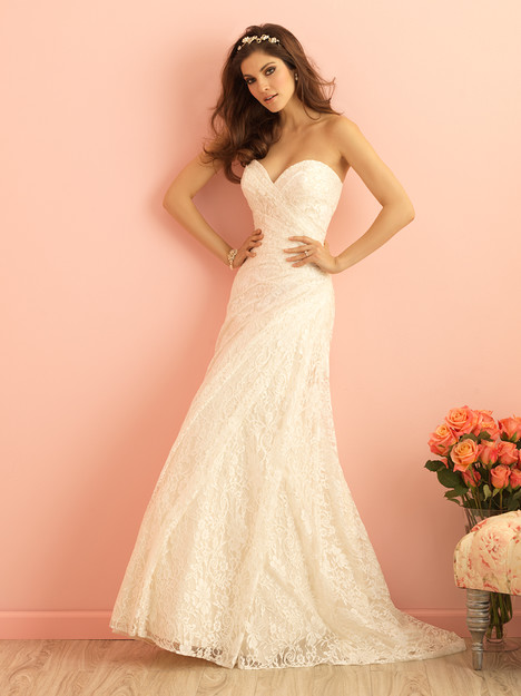 2854 Wedding                                          dress by Allure Bridals : Allure Romance