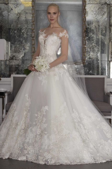 RK6468 Wedding                                          dress by Romona Keveza Collection