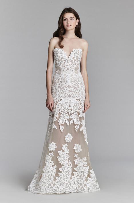 8708 (2) Wedding                                          dress by Jim Hjelm