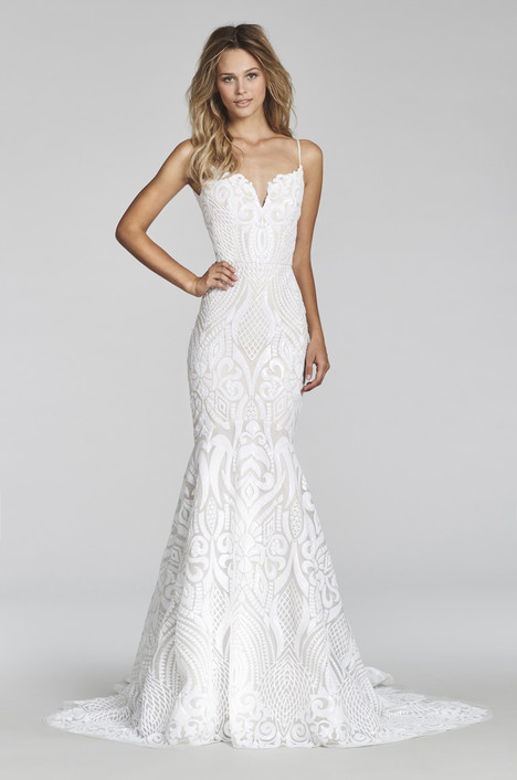 West (1710) Wedding                                          dress by Blush by Hayley Paige