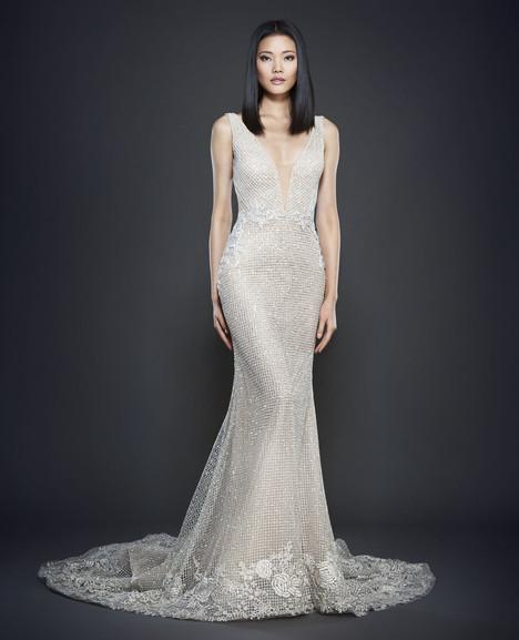 3701 Wedding                                          dress by Lazaro
