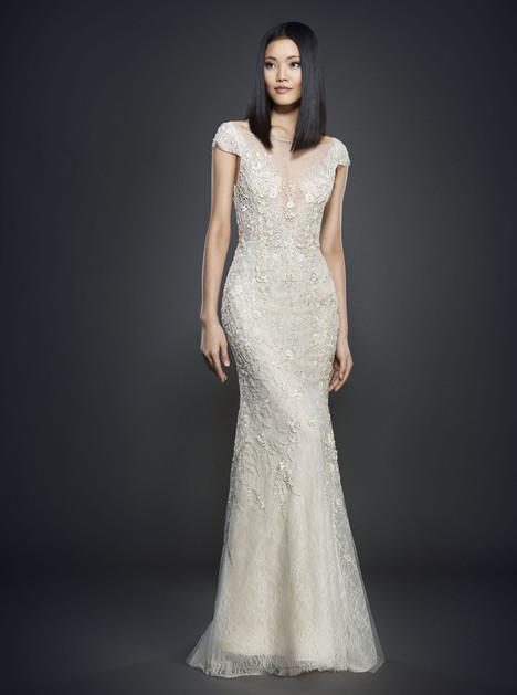 3702 Wedding                                          dress by Lazaro