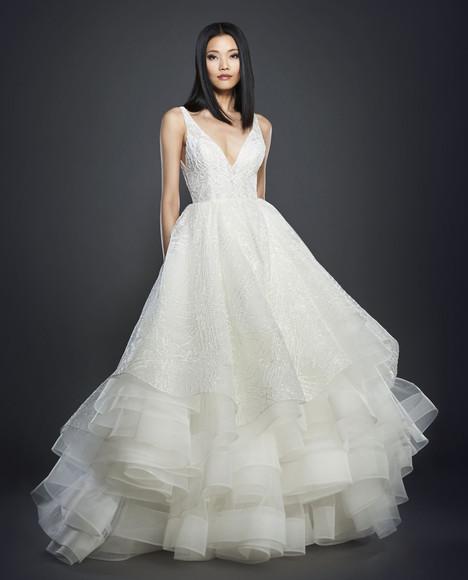 3703 Wedding                                          dress by Lazaro