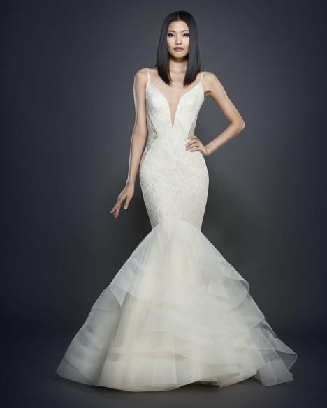 3704 Wedding                                          dress by Lazaro