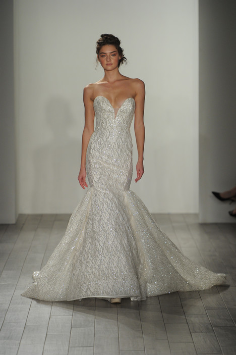 3705 Wedding                                          dress by Lazaro