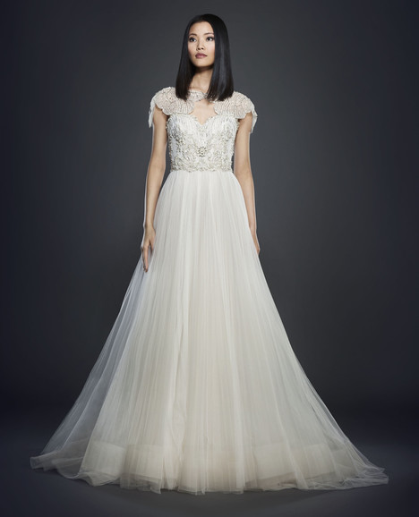 3706 (+ jacket) Wedding                                          dress by Lazaro