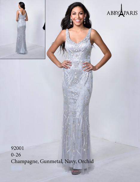 92001 (gunmetal) Prom                                             dress by Abby Paris