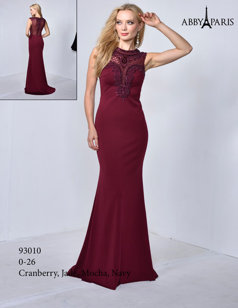 93010 (cranberry) Prom                                             dress by Abby Paris
