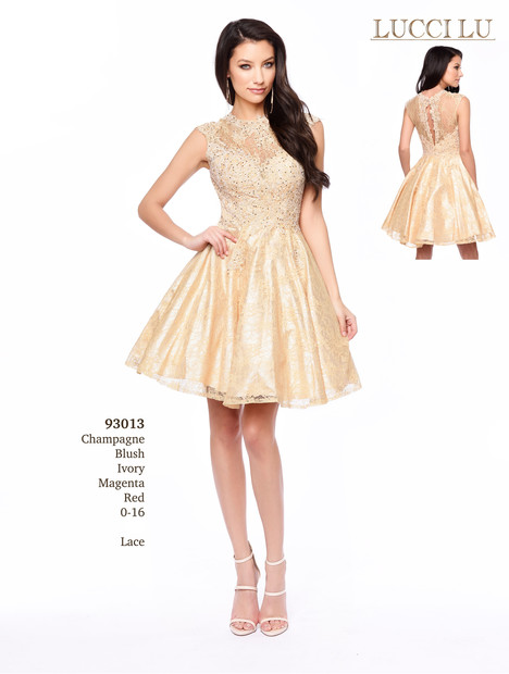 93013 (yellow) Prom dress by Abby Paris