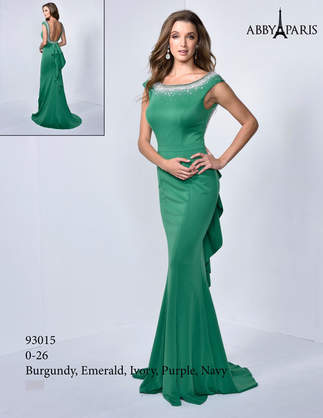 93015 (emerald) Prom                                             dress by Abby Paris