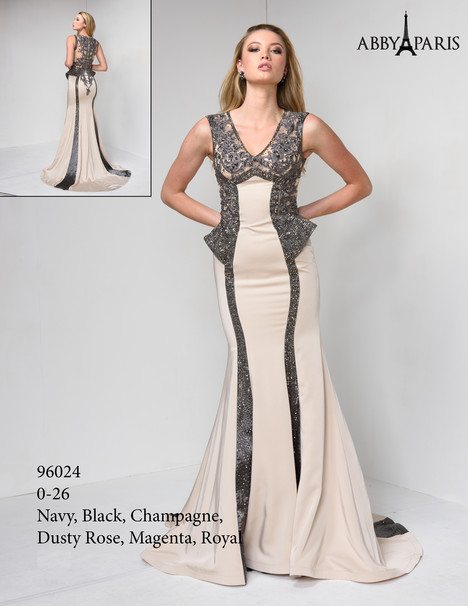 96024 (champagne) Prom                                             dress by Abby Paris