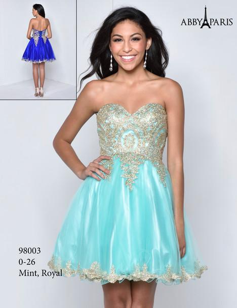 98003 Prom                                             dress by Abby Paris
