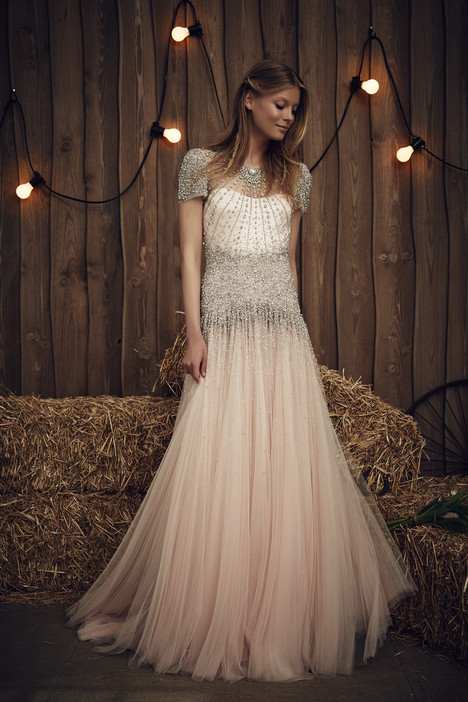 Dixie (JPB642) (pink) gown from the 2017 Jenny Packham collection, as seen on dressfinder.ca