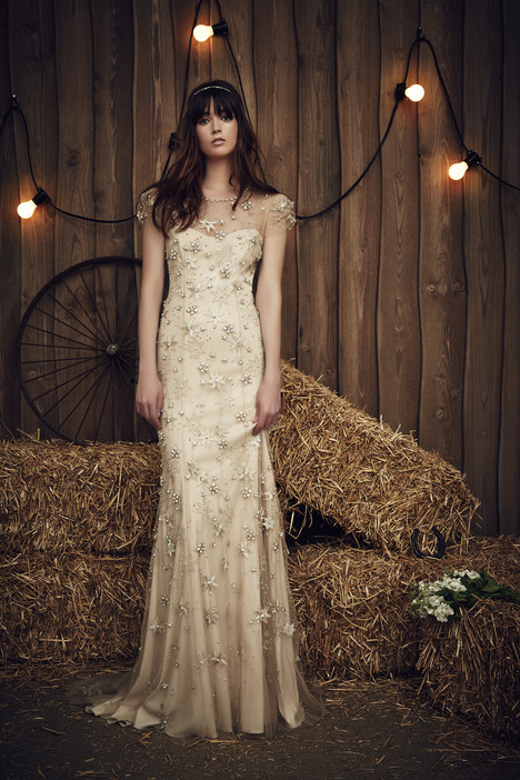 Lucky (JPB649) (barley) Wedding dress by Jenny Packham