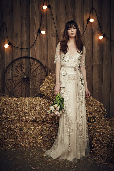 Faith (JPB659) (barley) Wedding                                          dress by Jenny Packham