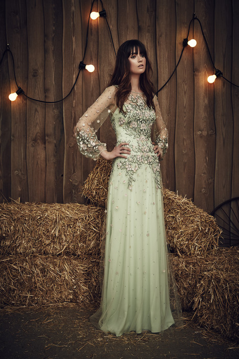 Apache (JPB660) (celadon) Wedding                                          dress by Jenny Packham