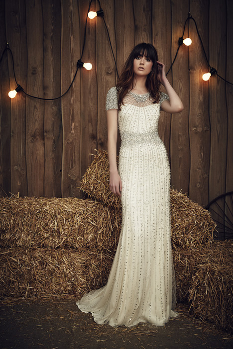 Dallas (JPB665) (silver) gown from the 2017 Jenny Packham collection, as seen on dressfinder.ca