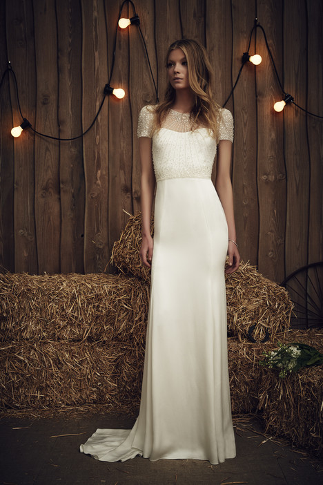 Carrie (JPB671) (ivory) Wedding                                          dress by Jenny Packham