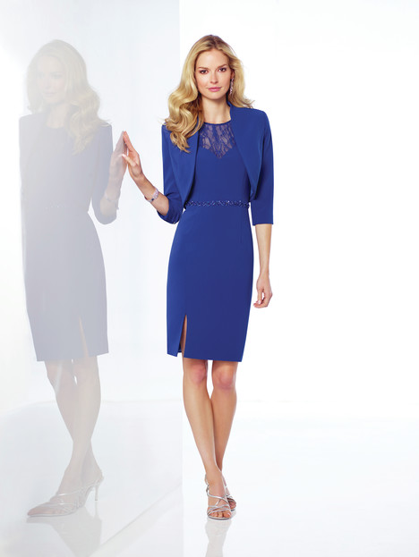 117813 (blue) Mother of the Bride                              dress by Mon Cheri : Social Occasions