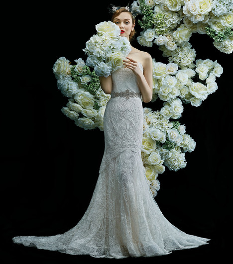 Bellflower Wedding                                          dress by Annasul Y