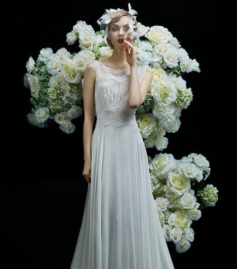 Peony gown from the 2017 Annasul Y collection, as seen on dressfinder.ca