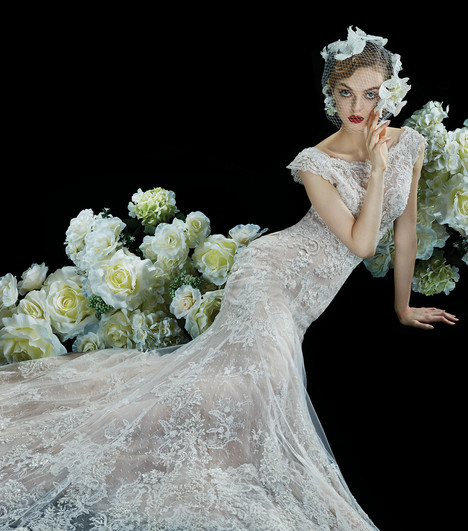 Vervain Wedding dress by Annasul Y