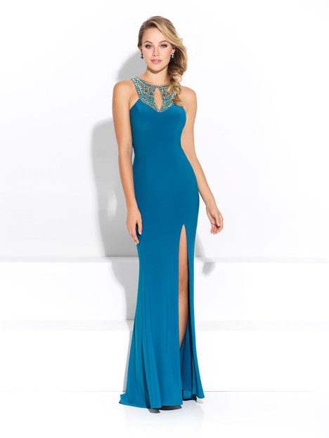 17-267 (Teal) Prom                                             dress by Madison James Special Occasion
