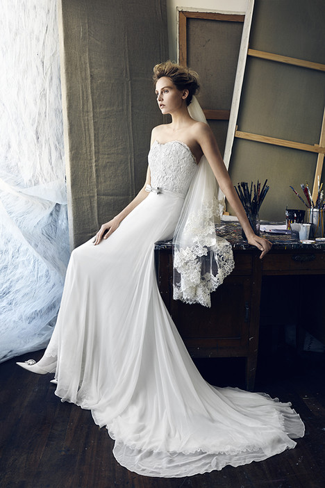 Beta Wedding                                          dress by Lusan Mandongus