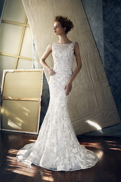 Epsilon Wedding                                          dress by Lusan Mandongus