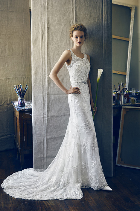 Kappa Wedding                                          dress by Lusan Mandongus