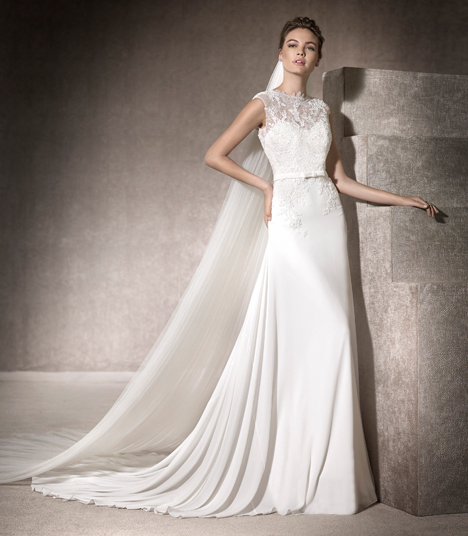 Mabel gown from the 2017 St. Patrick collection, as seen on dressfinder.ca