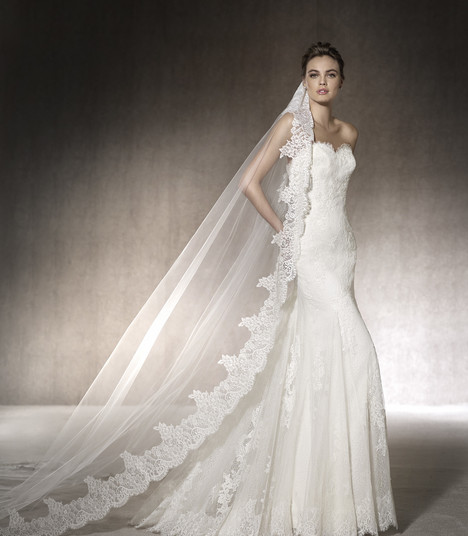 Marcia Wedding                                          dress by St. Patrick