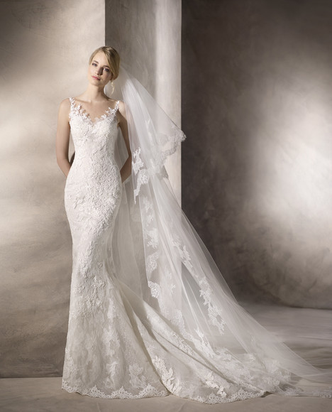 Hacine Wedding                                          dress by La Sposa