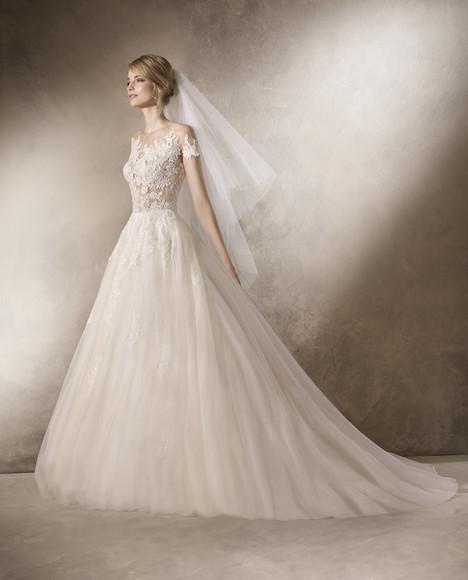 Hairnold Wedding                                          dress by La Sposa