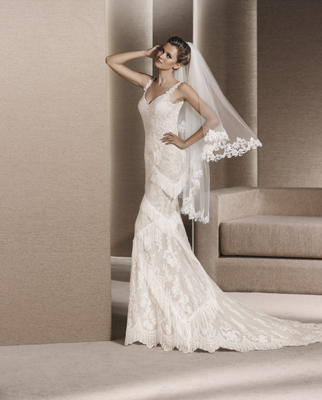 Reinold gown from the 2017 La Sposa collection, as seen on dressfinder.ca