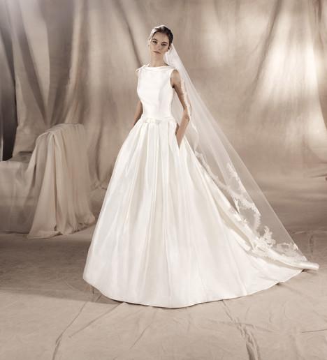 Sabrina Wedding                                          dress by White One