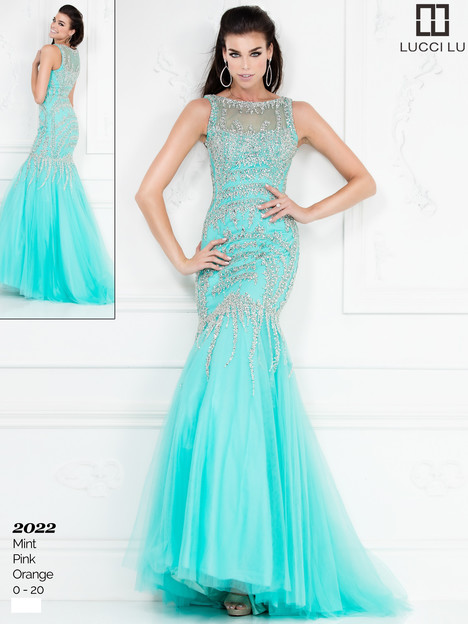 2022 (mint) Prom dress by Lucci Lu