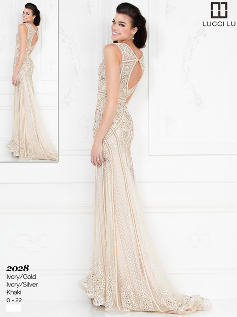 2028 Prom dress by Lucci Lu