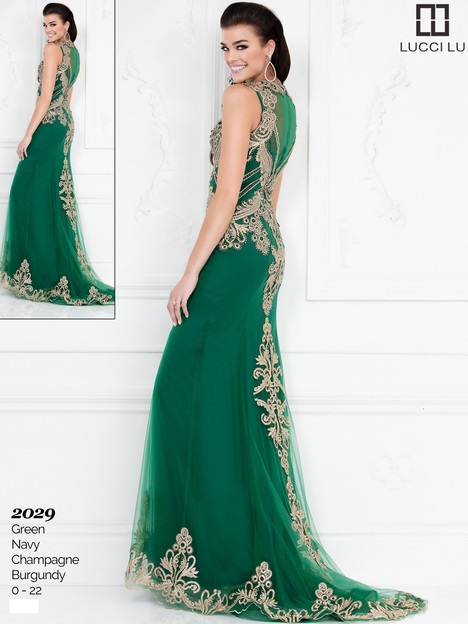 2029 (green) Prom                                             dress by Lucci Lu