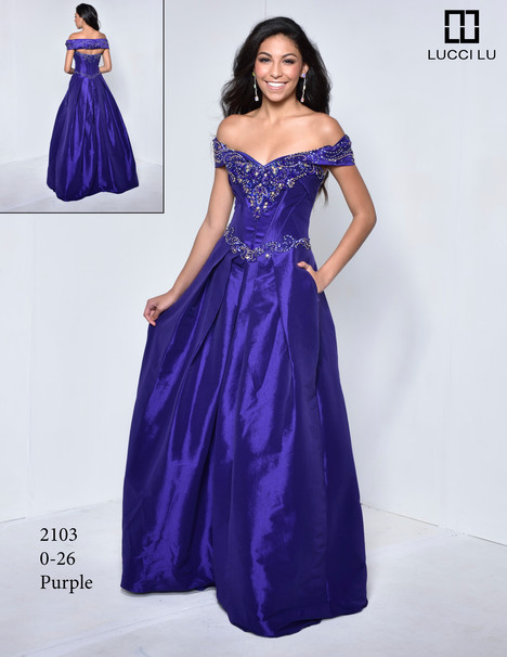 2103 Prom dress by Lucci Lu