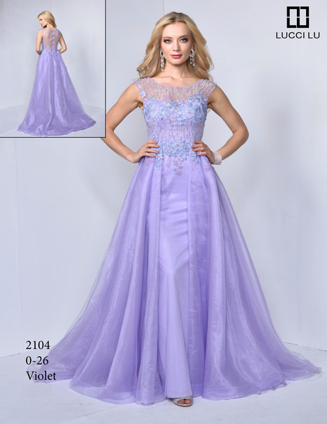 2104 Prom                                             dress by Lucci Lu